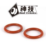God Tricks Red O-Ring Response Pads (Two Pack)