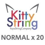 Kitty String NORMAL 100% Polyester  String - Various Colours x 20