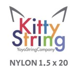 Kitty String NYLON 1.5 - White or Yellow x 20