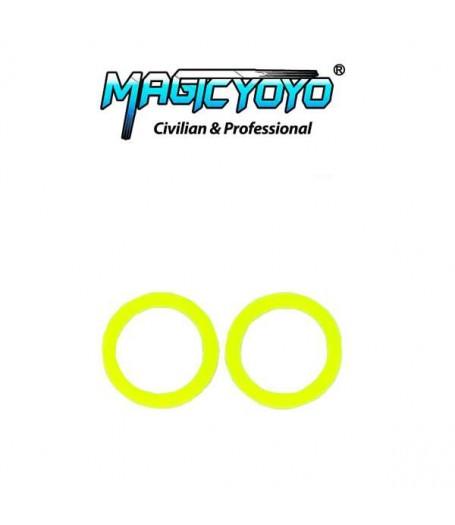 Magic YoYo Standard Large Bearing SLIM Response Pad - 19mm OD (YELLOW)