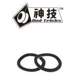 God Tricks Standard Large Bearing SLIM Response Pad BLACK - 19mm OD