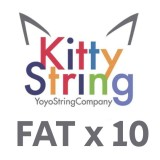 Kitty String FAT 100% Polyester  String - Various Colours x 10
