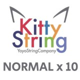 Kitty String NORMAL 100% Polyester  String - Various Colours x 10