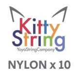 Kitty String NYLON - White or Yellow x 10