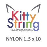 Kitty String NYLON 1.5 - White or Yellow x 10