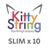 Kitty String SLIM 100% Polyester  String - Various Colours x 10