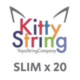 Kitty String SLIM 100% Polyester  String - Various Colours x 20
