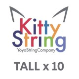 Kitty String TALL Extra Long 100% Polyester String - Various Colours x 10