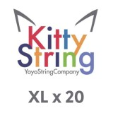 Kitty String XL 100% Polyester  String - Various Colours x 20