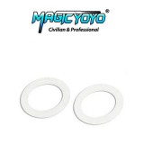 Magic YoYo WHITE Standard Large Bearing SLIM Response Pad - 19mm OD