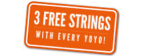 Three Free Strings