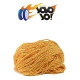 YoYo Yo! 100% Polyester 6 Ply (Type 6) String - ORANGE/GREEN/WHITE MIX  x 10