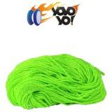 YoYo Yo! 100% PREMIUM Polyester 6 Ply (Type 6) MIX String - GREEN / YELLOW x 10
