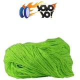 YoYo Yo! 100% PREMIUM Polyester 6 Ply (Type 6) MIX String - GREEN / YELLOW / WHITE x 10