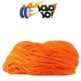 YoYo Yo! 100% PREMIUM Polyester 6 Ply (Type 6) String - ORANGE x 10