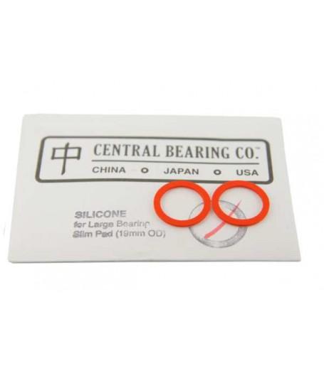 YoYoFactory CBC PRO Large Bearing SLIM Response Pad - 19mm OD - RED