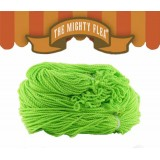 YoYoFactory Mighty Flea String 100% Polyester 4 Ply String - LIME GREEN x 10
