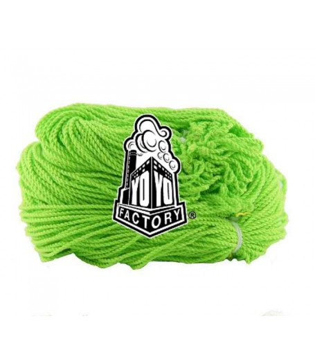 YoYoFactory 100% Polyester 6 Ply String - LIME GREEN x 20
