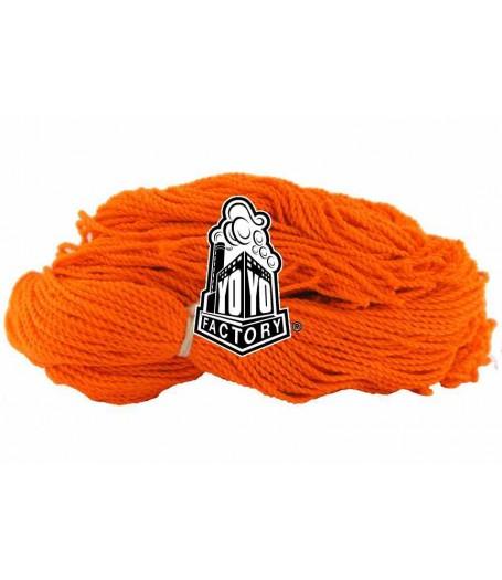 YoYoFactory 100% Polyester 6 Ply String - ORANGE x 10