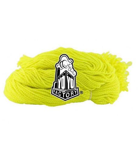 YoYoFactory 100% Polyester 6 Ply String - YELLOW  x 10